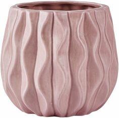 Home affaire Übertopf »Rose« für 9,99€. Moderne Vase, Mit trendigem Muster, Im…