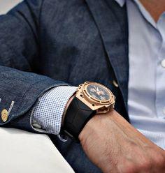 linde werdelin gold watch