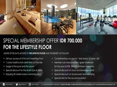 ❤️ Our MEMBERSHIP Fitness & Lifestyle Promotion  MELIA Hotels Makassar