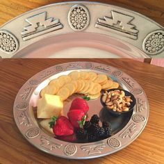 This Southwest style platter makes a great presentation! A wonderful wedding gift or for your favorite chef!