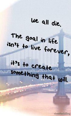 Live each day as if it were ur last!