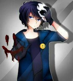 Read Jeff the killer x slenderman from the story crepypastas imágenes yaoi y más \(♡. Tv Anime, Anime Plus, Creepypasta Proxy, Creepypasta Cute, Laughing Jack, Jeff The Killer, Creepypasta Wallpaper, Gothic Drawings, Scary Drawings