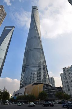 Shanghai Tower by Gensler in Shanghai, China Tallest in China...2nd Tallest in World