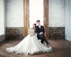 Hasil gambar untuk korean studio wedding photography