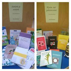 Hyvinkään Laurea-kirjastossa on esillä ja lainattavissa sosiaali- ja terveysalan uutuushankintoja. Tervetuloa!