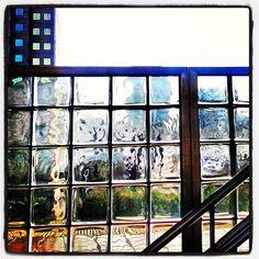 Glass Bricks at Government Center