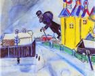 Marc Chagall Over Vitebesk Oil Painting Reproductions for sale Marc Chagall, Chagall Paintings, Art Education Resources, Les Fables, Collage, Art Database, Oil Painting Reproductions, Naive Art, Illustrations