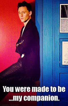 Okay i'm starting to think that Tom Hiddleston is going end up being the 12th Doctor....not that, that's a bad thing...