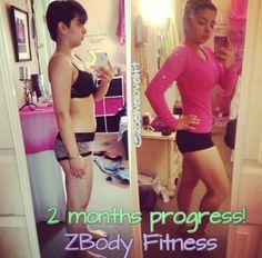 2 months progress of my client!