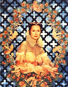 Tilda Swinton: Portrait de Lady Swinton by Pierre et Gilles, 1996