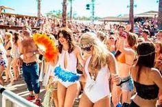 Strand Kroatien Feiern