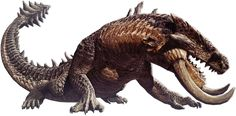 Behemoth from Dragon's Dogma Online.