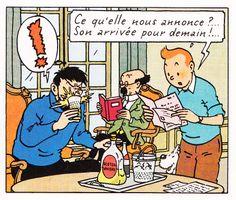 Château de Moulinsart - Les bijoux de la Castafiore - Tintin - Hergé