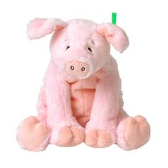 This beautiful Toy Pig is another credit to the Happy Horse baby toys range. We love his little eyebrows that give him his surprised yet innocent look and again the softness of the materials is just gorgeous. Old MacDonald takes on a whole new dimension when Farm Pig gets involved, many a happy hour can be spent with this little guy!