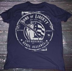 Sons of Liberty - Original Rebel Alliance : T-Shirt  #Comeandtakeit #Freedom #Liberallunacy #Livefree #Patriot #Pc #Politicalcorrectness #Righttobeararms #Sonsoflibertytees #Threepercent #Usa