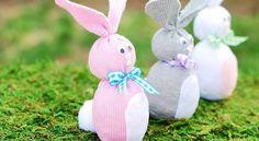 Sock Bunny (Easter Crafts for Kids) - A Pumpkin And A Princess Easter Crafts For Toddlers, Easy Easter Crafts, Sock Crafts, Bunny Crafts, Easter Crafts For Kids, Toddler Crafts, Crafts To Do, Craft Kids, Easter Ideas
