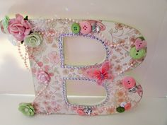 Green letter D Personalized letter Birthday gift Nursery Alphabet letter D Shabby chic letter Wall art Photo prop Preciousgiftsbydiane Wood by PreciousGiftsbyDiane on Etsy