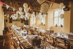 Village Hall Wedding With A Picnic Style Meal Bride Wears 50s Style Wedding Dress With Images by Matt Penberthy Photography