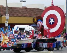 Celebrate your Independence Day before dark with plenty of parades, carnivals, activities, and fireworks throughout San Diego.