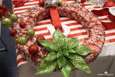 Pinterest Party Wreath