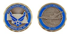Offutt AFB RC-135 Coin - Item CC-1254