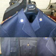 Another Garda dress uniform ready for finish pressing. This one is for a Chief Superintendent! Mens Suits, The North Face, Ireland, Trousers, Menswear, Instagram Posts, Jackets, Dresses, Fashion