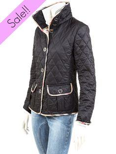 Just style. Shop now! http://www.giancarlino.it/shop/abbigliamento-donna/husky-burberry-collo-in-piedi/