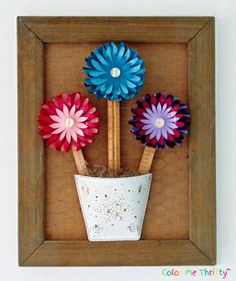 This is a fun and easy project using bouncy castle plastic balls and repurposing them into colorful flowers. Sola Wood Flowers, Diy Flowers, Colorful Flowers, Picket Fence Panels, Painted Rock Cactus, Herb Markers, Flower Tower, Paper Plants, Easy Projects