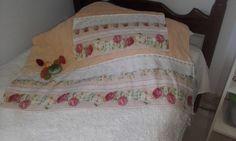 Conjunto de toalhas -banho e rosto.