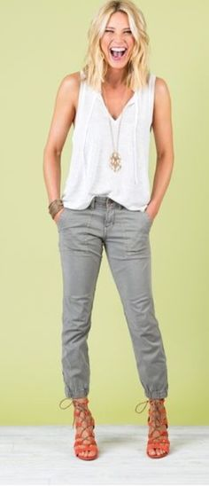 Summer Outfit. Stitch fix inspiration July 2016. Try stitch fix subscription box :) It's a personal styling service! 1. Sign up with my referral link. (Just click pic) 2. Fill out style profile! Make sure to be specific in notes. 3. Schedule fix and Enjoy :) There's a $20 styling fee but will be put towards any purchase!