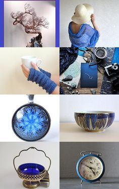 Blue. Unique Gift Ideas No.4 by ILONA on Etsy--Pinned with TreasuryPin.com
