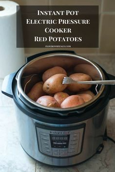 Instant Pot Red Potatoes are easy to make and an easy way to cook potatoes for your favorite potato salad recipe. Pressure cooker potatoes are so easy.