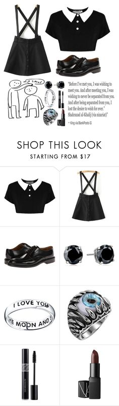 """Insecurities"" by soliszayra ❤ liked on Polyvore featuring Killstar, Paul Smith, CZ by Kenneth Jay Lane, Footnotes and NARS Cosmetics"