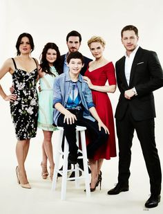 Once Upon A Time Cast -  Photo Shoots | Comic Con 2014.