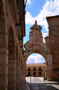 Arco romano. San Clemente. Cuenca.