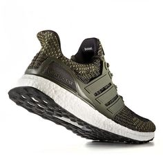 """The adidas Ultra Boost 3.0 """"Trace Cargo"""" releases in January and feature a new heel construction. For a detailed look at this new #UltraBoost release, tap the link in our bio."""