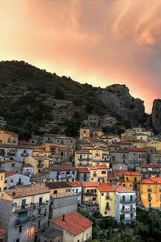 The Dolomites, Castelmezzano, Basilicata, Italy