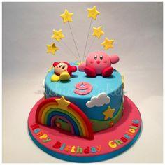 Kirby Rainbow Cake - cake by Jackie's Cakery