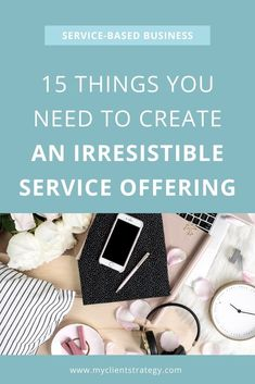 Here's an essential list of 15 things you need to create an irresistible service offering that will have your clients saying YES! It's perfect for any service-based, coaching or consulting business. #servicebusiness #coachingbusiness #coachingprograms #serviceprograms #servicedesign #services #servicebasedbusiness #serviceoffering Content Marketing Strategy, Sales And Marketing, Business Marketing, Business Advice, Business Planning, Business Coaching, Pinterest Marketing, Creative Business, Create