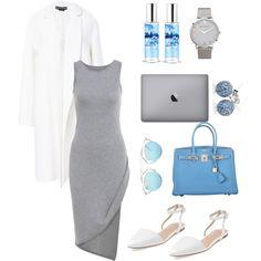 Untitled #10 by oksana-m on Polyvore featuring polyvore moda style Rochas Best Society Hermès Loushelou Larsson & Jennings Christian Dior The Body Shop