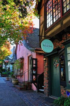 shops in Carmel, California