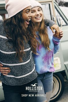 Here's the stitch. Embroidered tops, sweatshirts, jeans & dresses are everything right now. Get comfortable in the latest trend at Hollister.