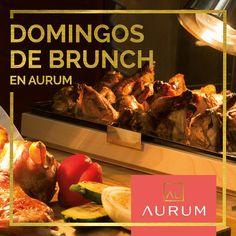 ¡Domingo de brunch! A partir de las 11:00am, Aurum ofrece el más completo y exclusivo brunch de la ciudad. Haga check-in en el Hotel en Facebook y reciba una mimosa de cortesía.