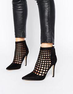 Image 1 ofAldo Niredia Cut Out Heeled Ankle Boots