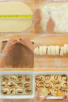 """Big, soft, homemade Cinnamon Rolls have the best cream cheese icing and they always disappear fast. As my sister puts it, they are """"better than Cinnabon! Quick Cinnamon Rolls, Cinnamon Rolls From Scratch, Cinnamon Roll Icing, Make Cream Cheese, Cream Cheese Icing, Sweet Buns, Cinnabon, Banana Bread Recipes, Cake Recipes"""