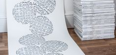 Mosaic Plate wallpaper from Signature Collection. www.patternation.co.uk