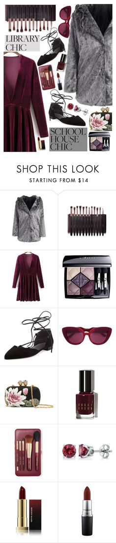 """""""Velvet is My Love ♥"""" by av-anul ❤ liked on Polyvore featuring Christian Dior, Stuart Weitzman, Marni, Alexander McQueen, Bobbi Brown Cosmetics, BERRICLE, Kevyn Aucoin and MAC Cosmetics"""