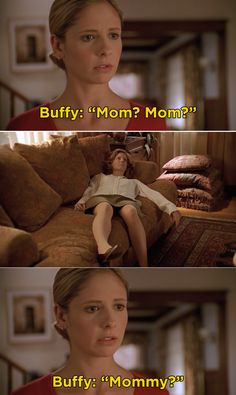 When Buffy's mom, Joyce, died unexpectedly and Buffy found her body on Buffy the Vampire Slayer. Jason Ralph, If I Die Young, Sarah Drew, Fitz And Simmons, Rita Moreno, Teen Wolf Mtv, Jane The Virgin, Sarah Michelle Gellar, Get Shot