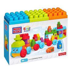 "Mega Bloks First Builders 123 Learning Train -  MEGA Brands - Toys""R""Us"