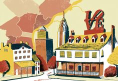Philadelphia, like most old brewing places in the USA, started it's industry alongside the establishment of the Irish pubs.